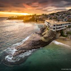 Laguna Beach by drone
