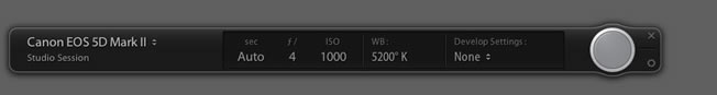 tethering in Lightroom 3