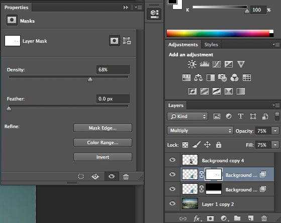 how to draw shadows in photoshop