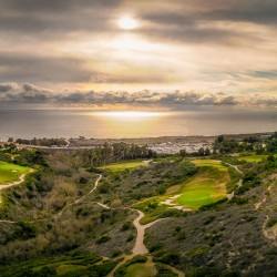 Montage resort, gold course, drone panorama