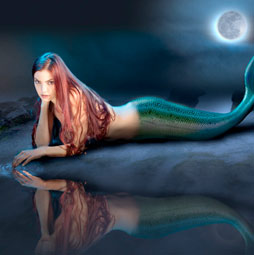 mermaid in photoshop