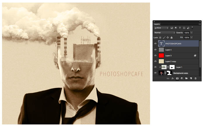 Blending layers in Photoshop, Double Exposure Tutorial - PhotoshopCAFE