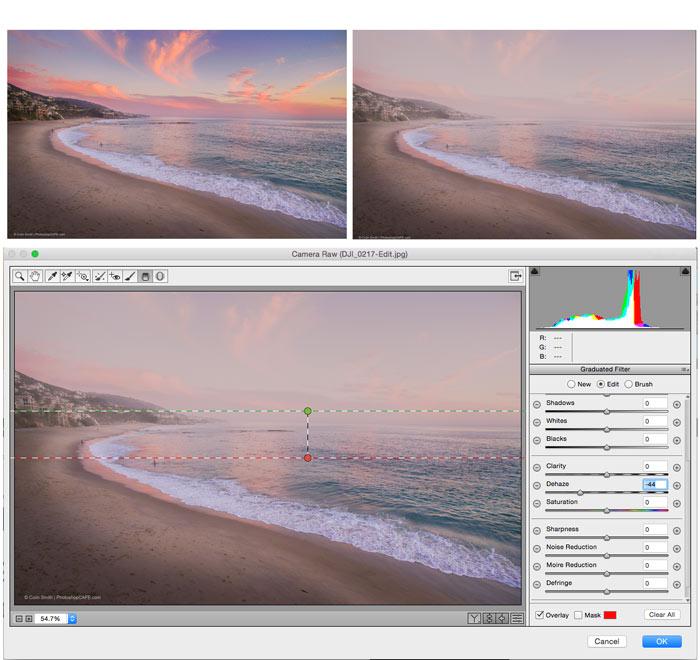 dehaze in ACR Photoshop CC 2015.1