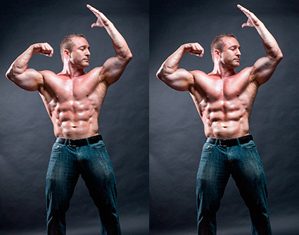 bodysculptinginPhotoshop