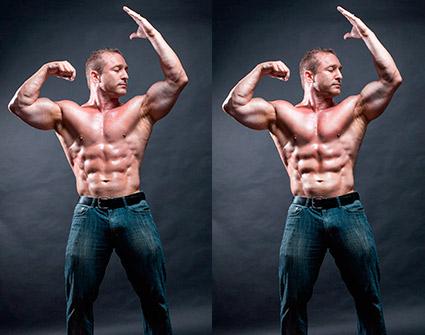 bodysculptinginPhotoshop