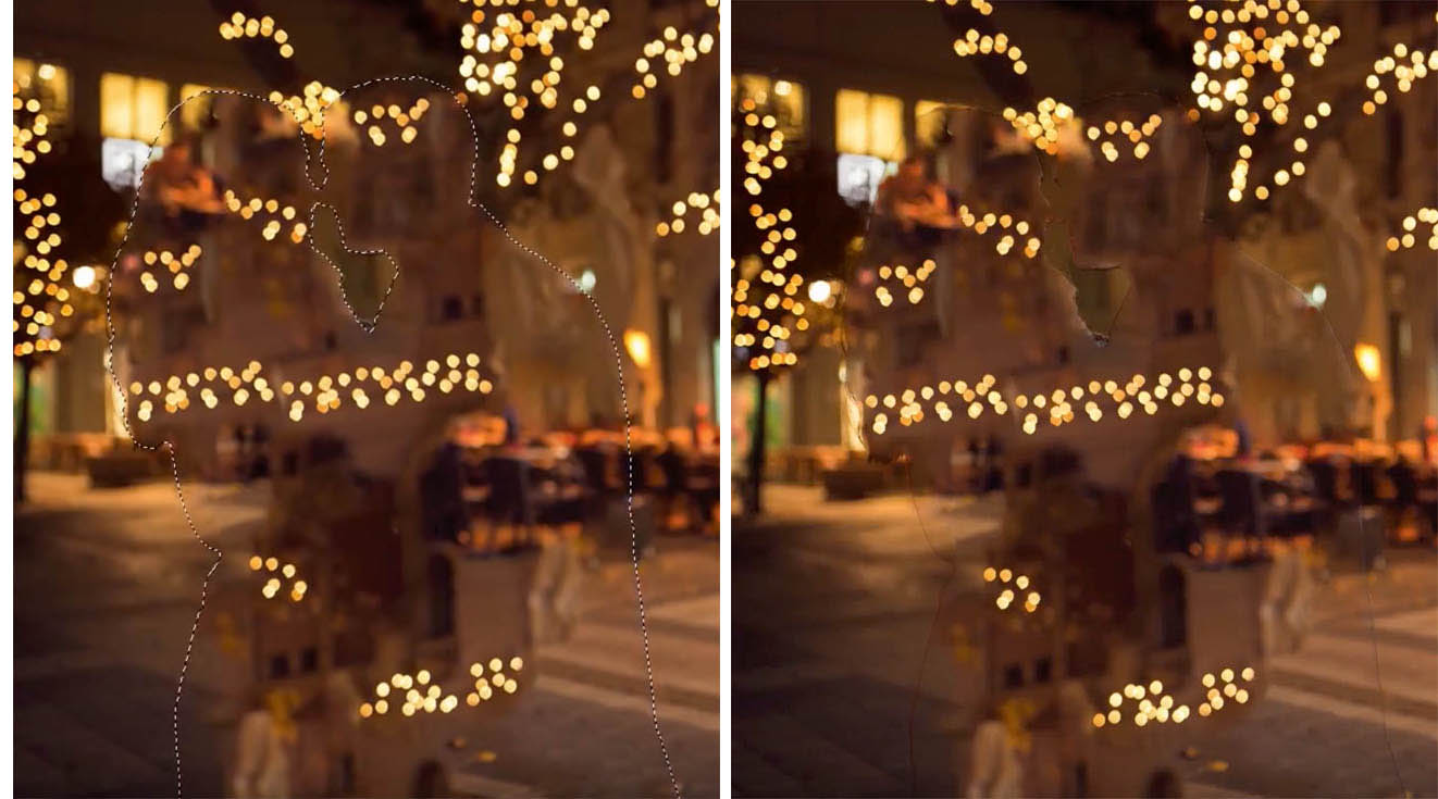 How to create Bokeh background blur to a photo in photoshop ...