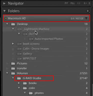 organize adobe lightroom library 02