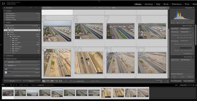 organize adobe lightroom library 04