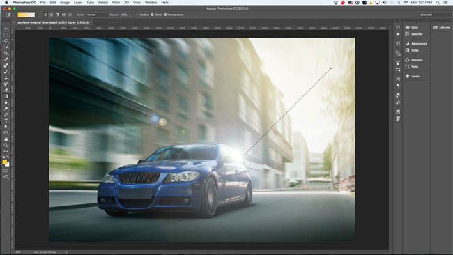 lens flare in photoshop13