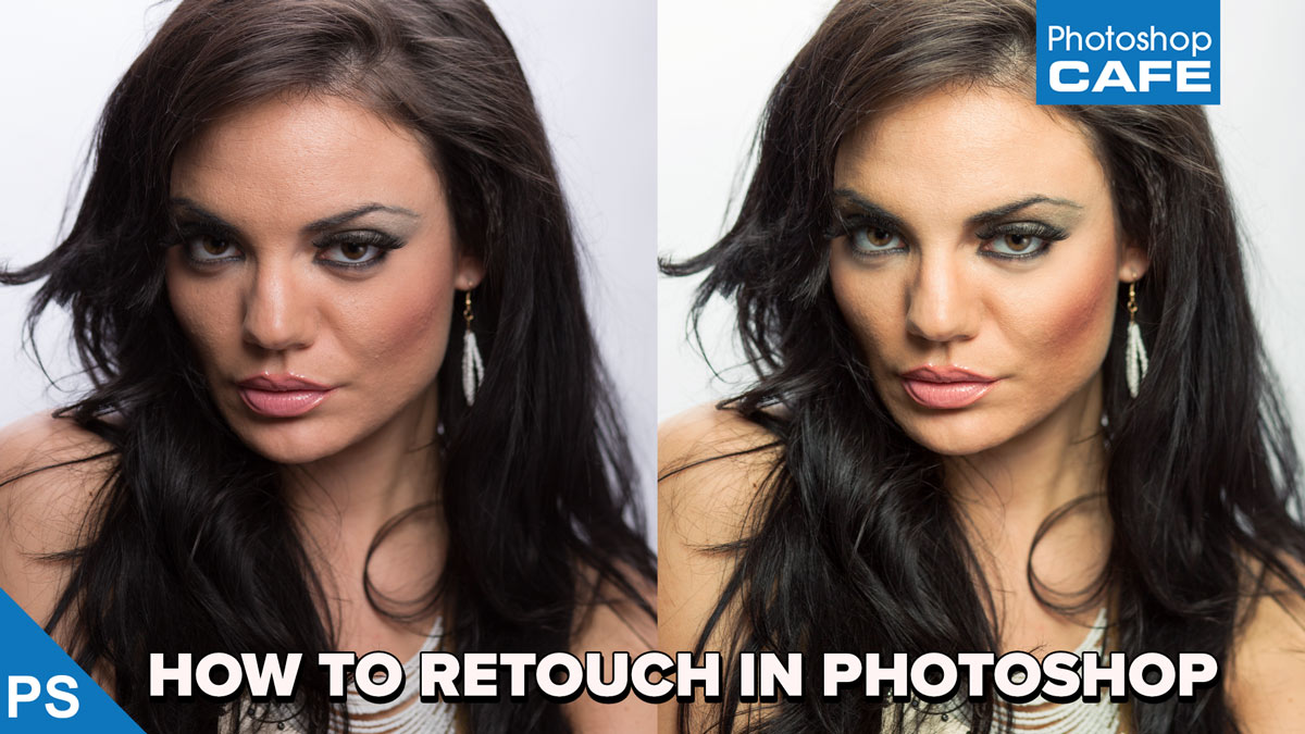 How to retouch a face in photoshop workflow tutorial photoshopcafe baditri Image collections