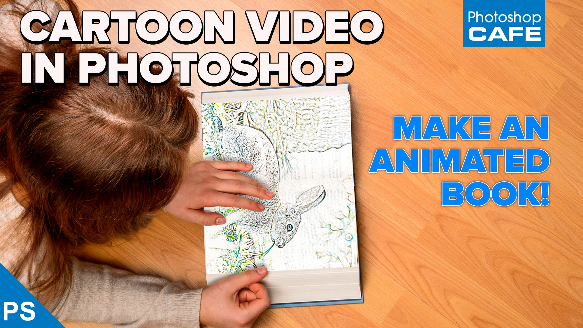 Make An Animated Cartoon From Video In Photoshop Tutorial Photoshopcafe