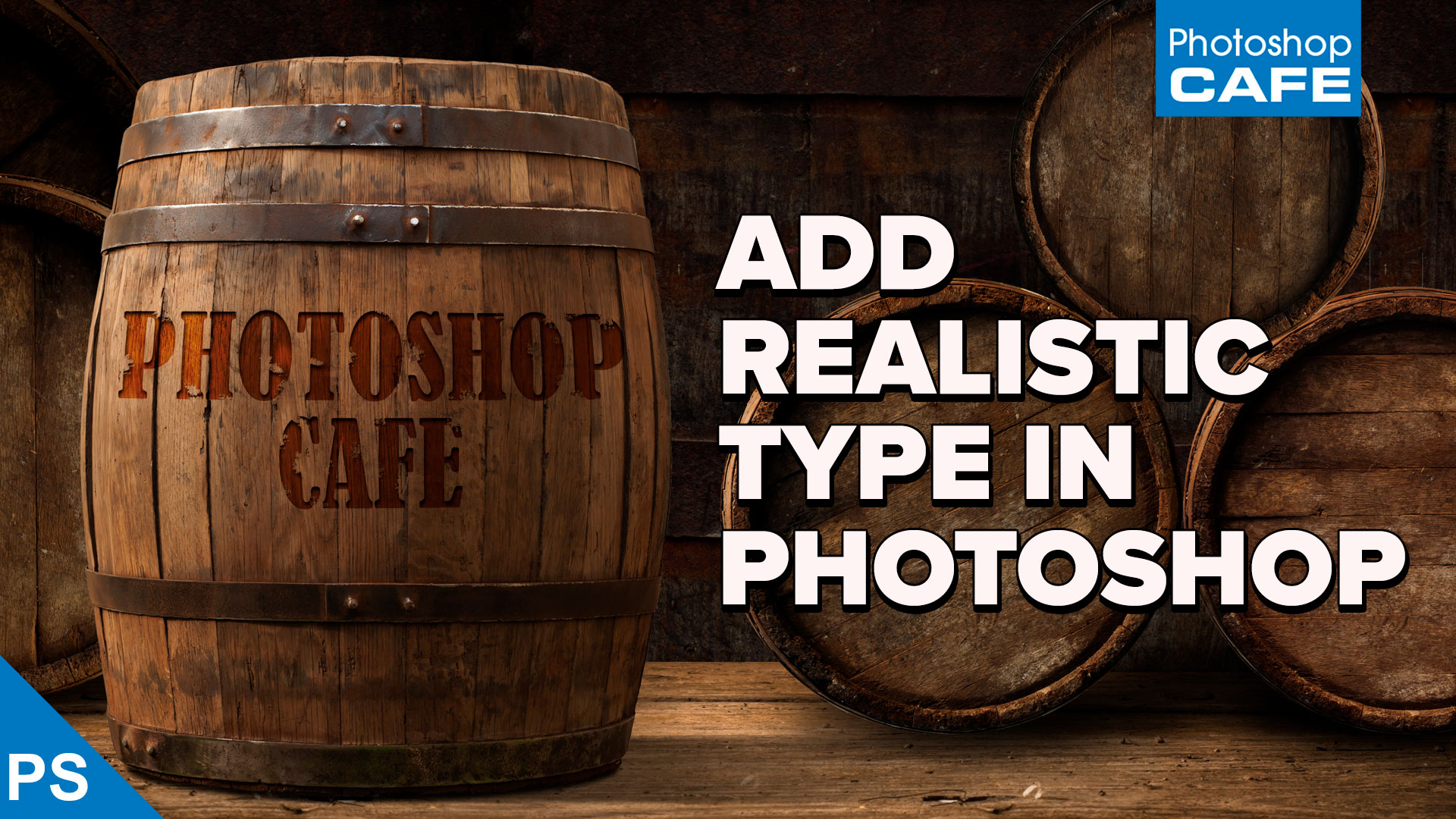 How to blend text into a photo realistically in Adobe