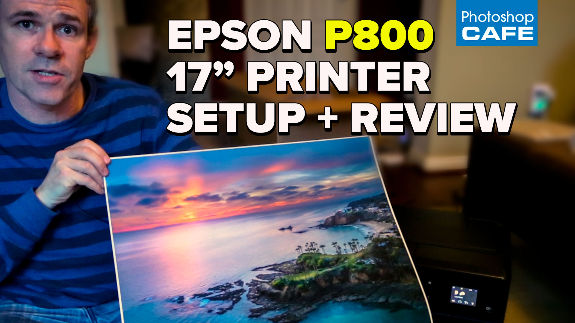 Epson Surecolor P800, Review, unboxing and setup tutorial