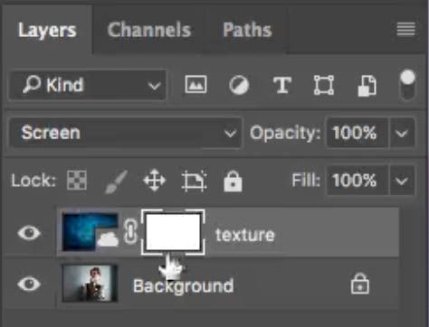 how to create a texture overlay of a photo in Photoshop