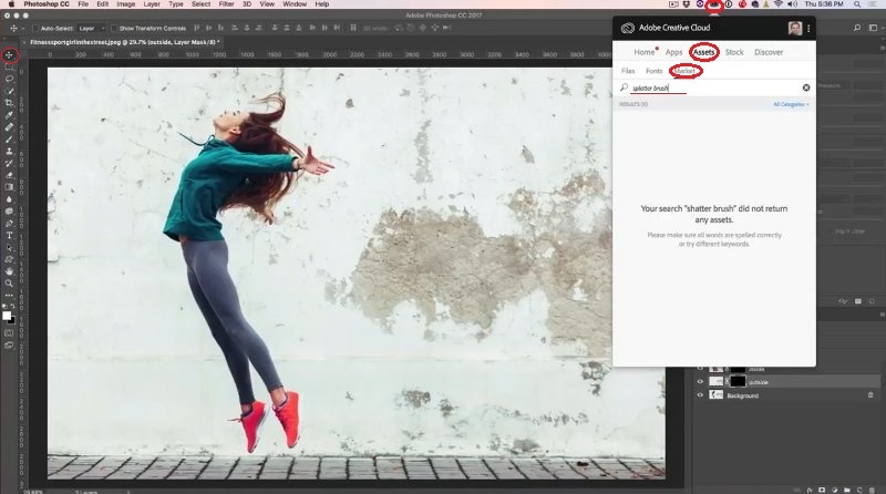 Particle disintegration effect in photoshop tutorial