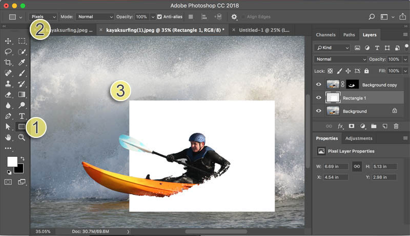 How to make the out of bounds, pop out effect in Photoshop Tutorial ...