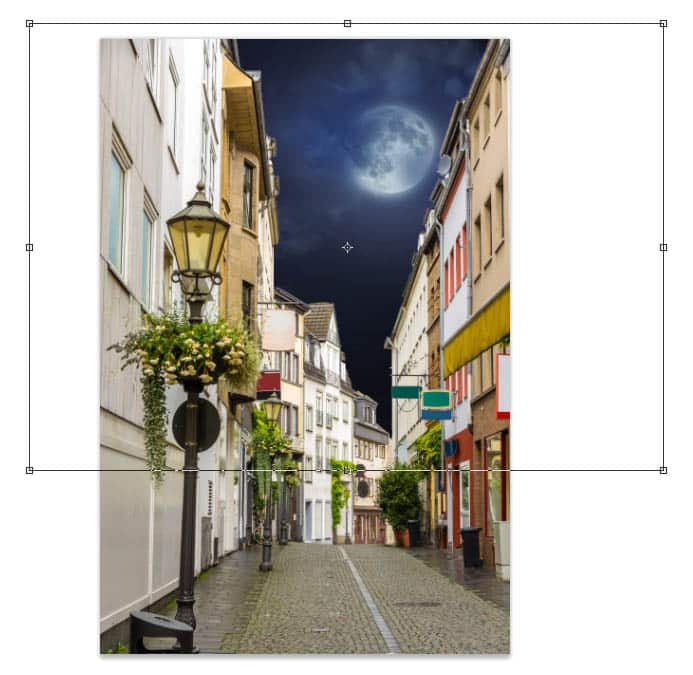 transforming sky in Photoshop (sky replacement)