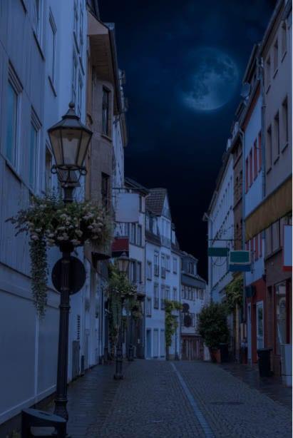 night time look