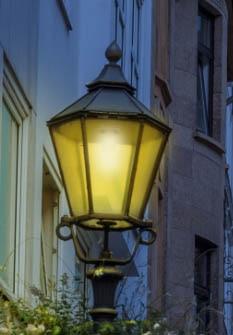 urn trên một ánh sáng trong Photoshop