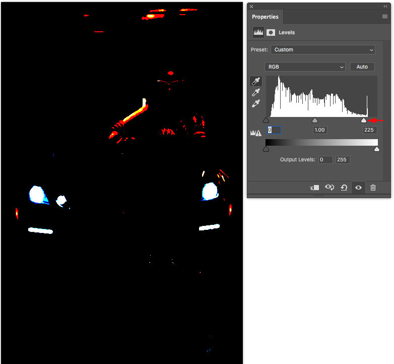 Set color and tone in Photoshop in 3 clicks with eyedroppers (Easy