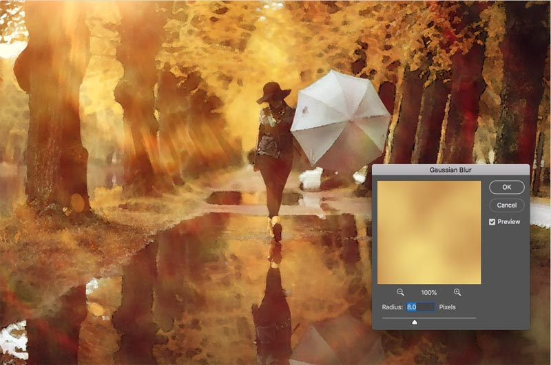 How to turn any photo into a watercolor painting in