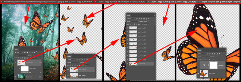Hierarchy of Smart Objects in Photoshop