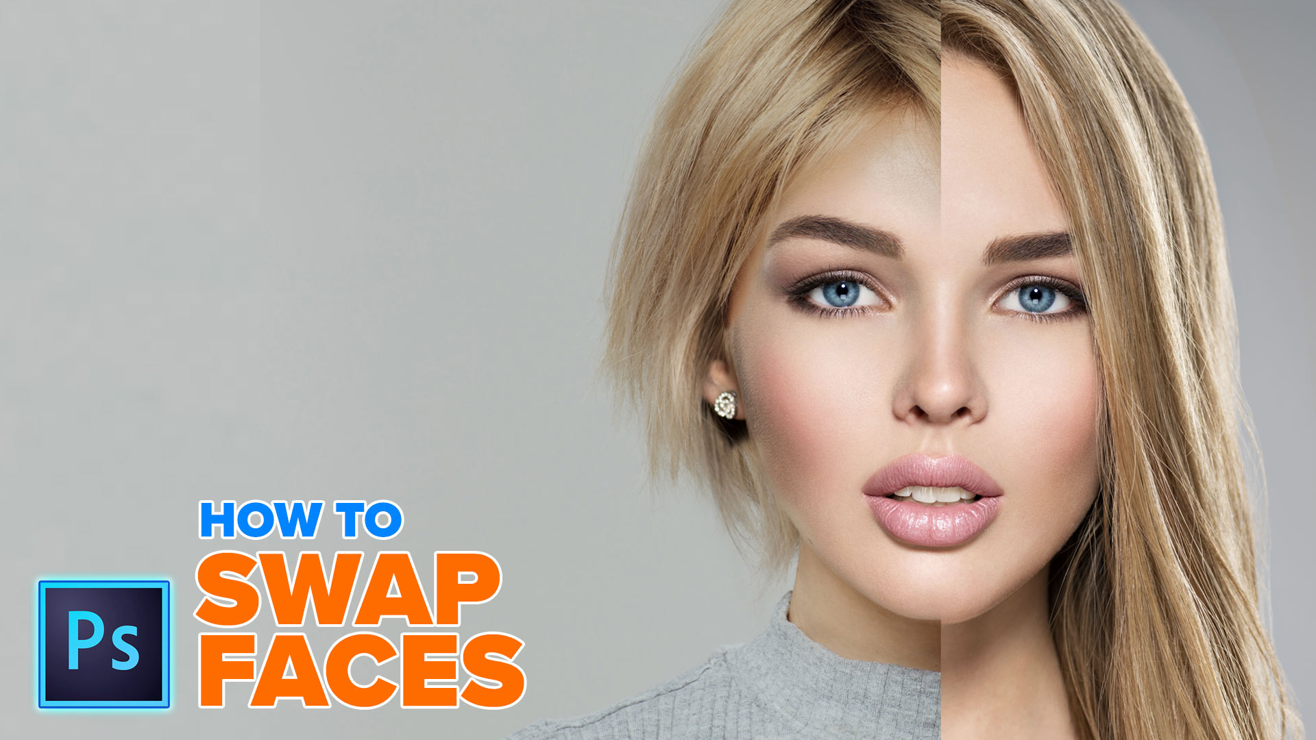How to Swap faces in Photoshop tutorial - PhotoshopCAFE