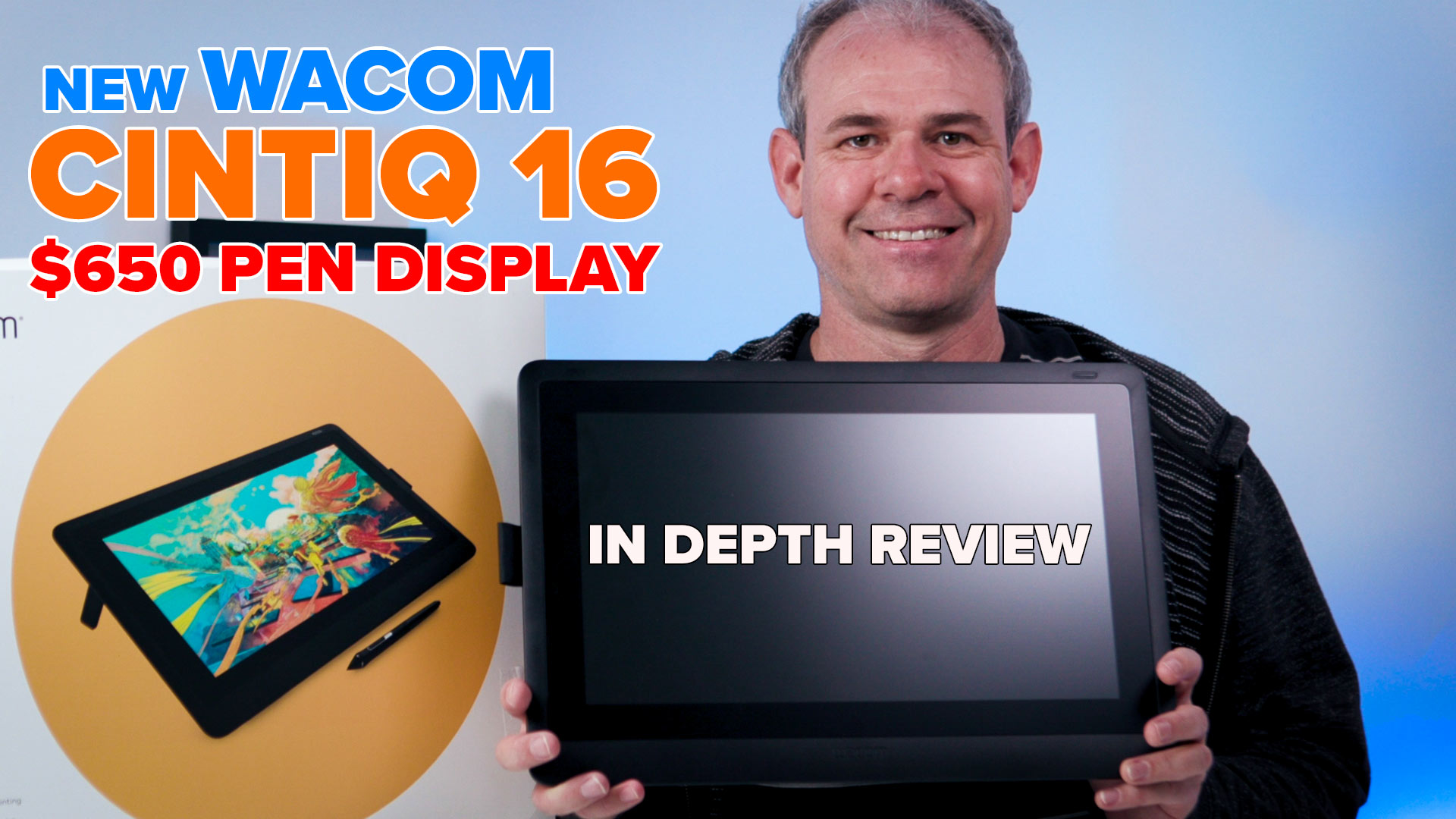 Wacom Cintiq 16 review  An inexpensive Pen display from Wacom