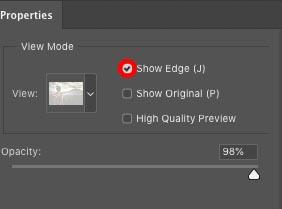show edges