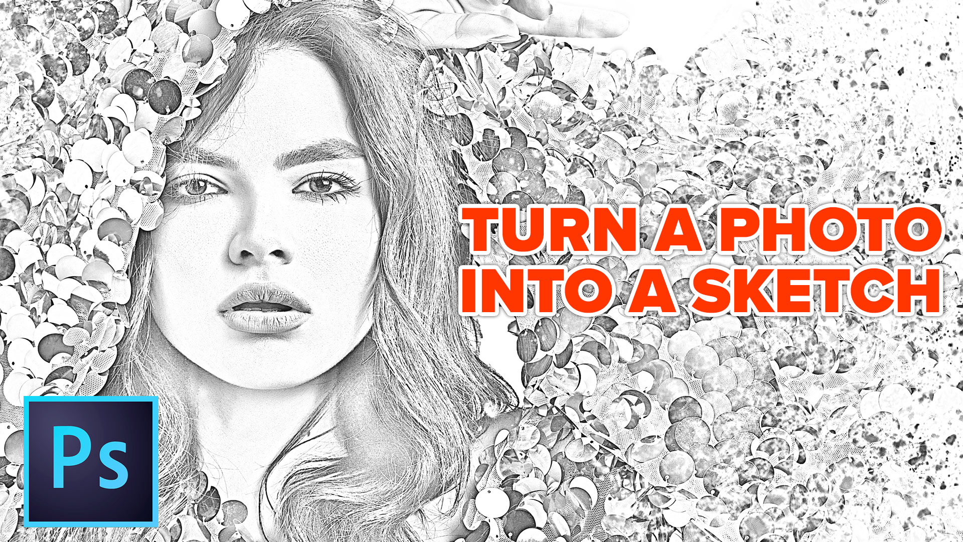 How to turn a photo into a pencil drawing in photoshop the new and improved sketch effect photoshopcafe