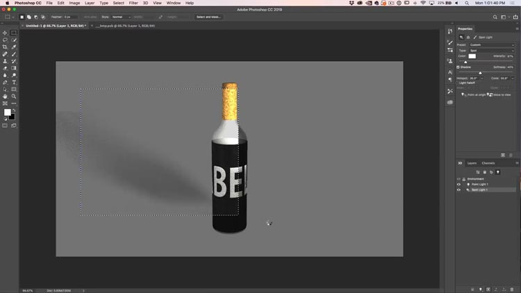 How to use 3D in Photoshop, Ultimate Tutorial - PhotoshopCAFE
