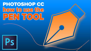 Drawing Paths with the Pen tool in Photoshop Tutorial - PhotoshopCAFE