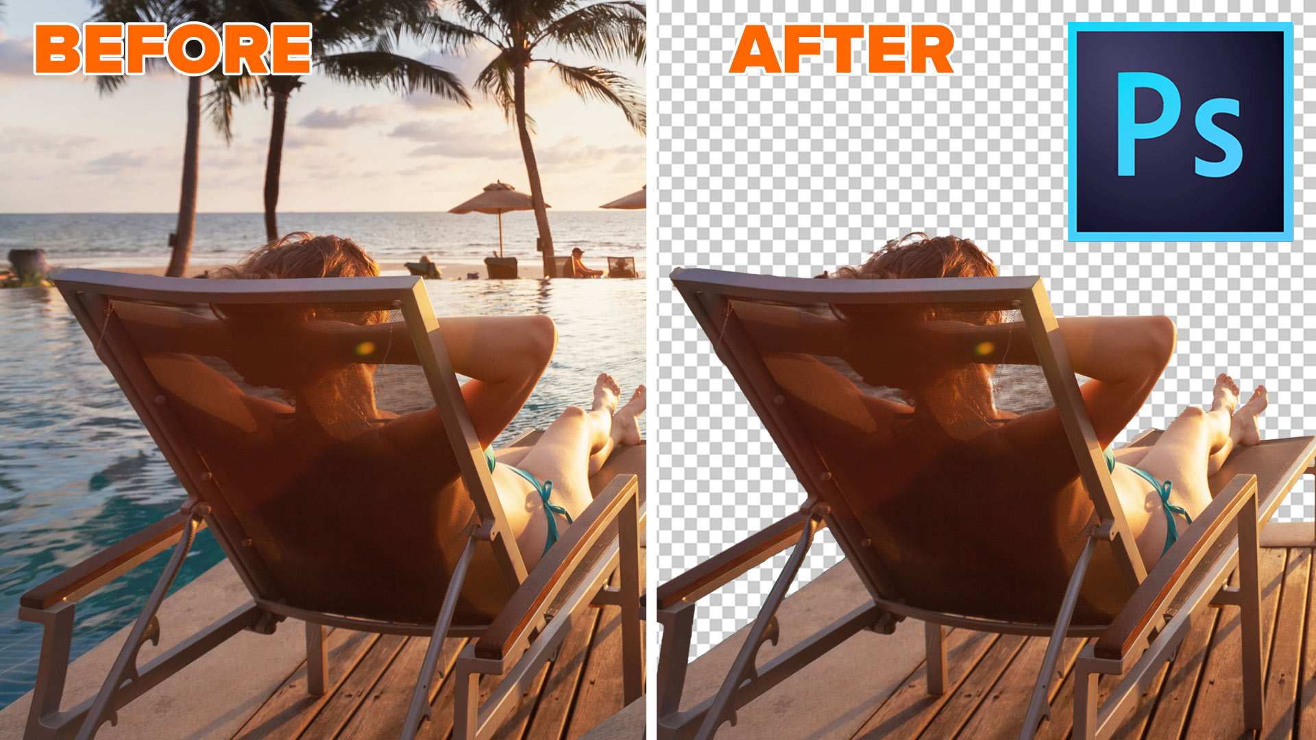 How to Remove the Background of a photo in Photoshop ...