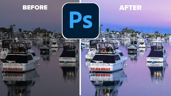 use ACR to edit photos , photography tutorials in photoshop