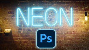 neon effect in photoshop
