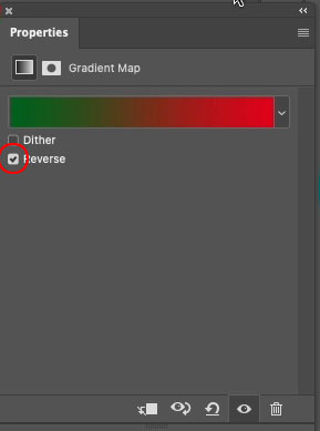 reverse a gradient in Photoshop