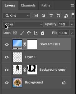 gradient layer