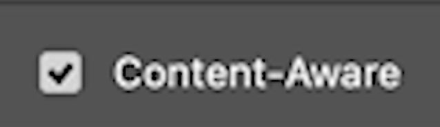 content aware crop