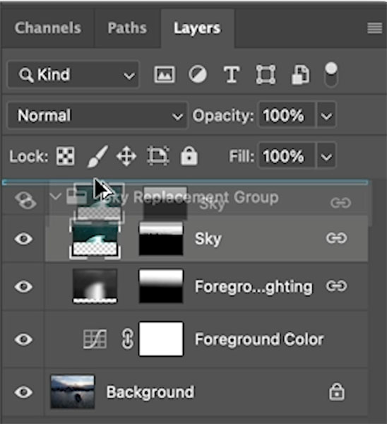 duplicating a layer in photoshop