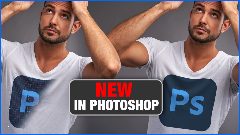how to use solit warp in photoshop to make an image match clothing
