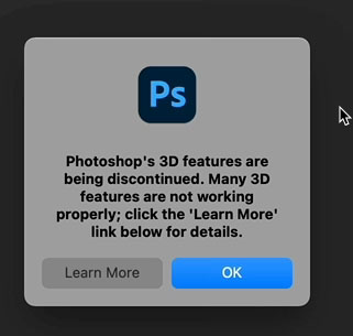 3D not working in Photoshop