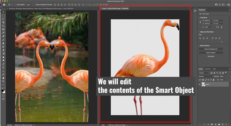 smart object contents