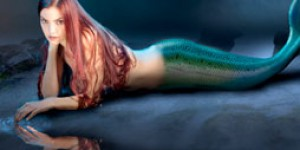 Making a mermaid in photoshop using photographs and 3D